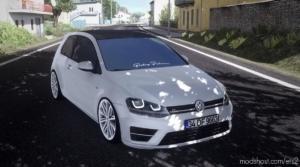 Golf 7 Rline V2 [1.38.X] for Euro Truck Simulator 2