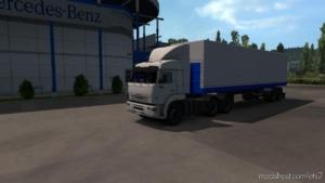 Kamaz 54-64-65 + Nefaz [1.36.X – 1.38.X] for Euro Truck Simulator 2