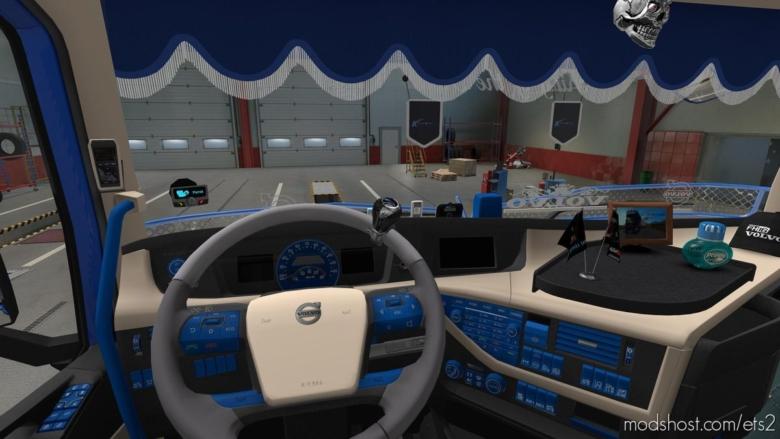 Volvo FH Interior for Euro Truck Simulator 2