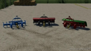 Mechanical Harrow for Farming Simulator 19