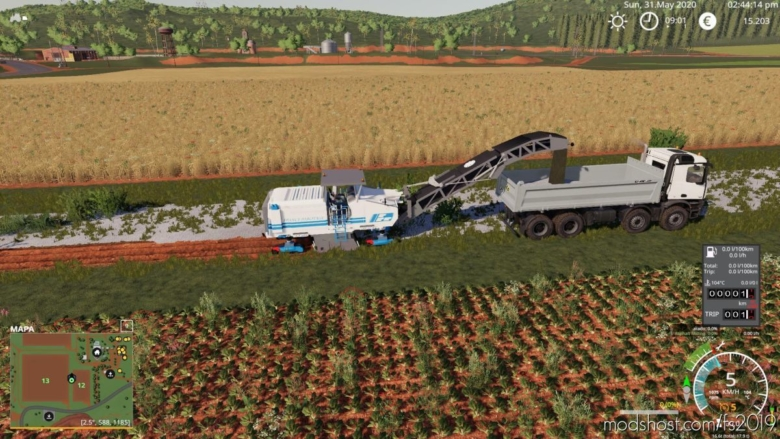 Asphalt Milling for Farming Simulator 19