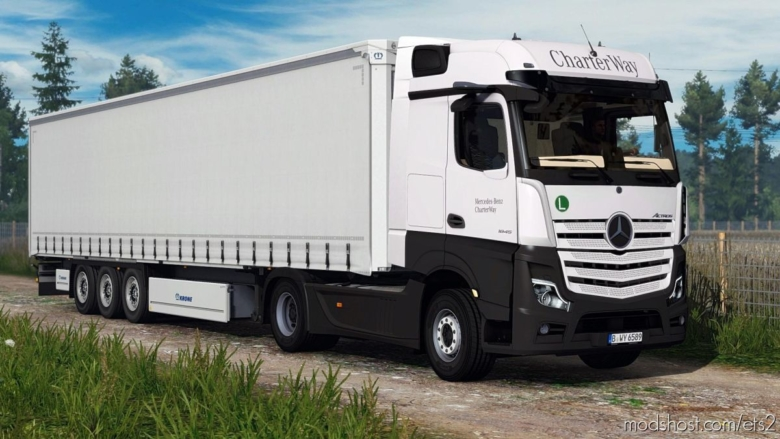 Mercedes Benz Actros 2019 V1.4 for Euro Truck Simulator 2