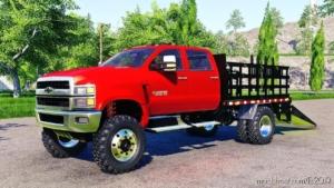 Chevrolet Silverado 4500 HD Stake Truck for Farming Simulator 19