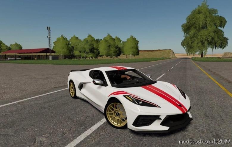 2020 Chevy Corvette V2.0 for Farming Simulator 19