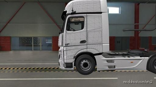 Mercedes Benz Actros MP5 Template for Euro Truck Simulator 2