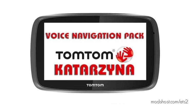 Katarzyna TOM TOM Voice Navigation Pack for Euro Truck Simulator 2