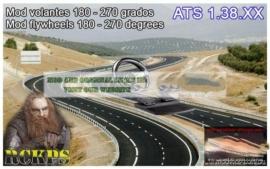 Mod For Steering Wheel 180-270 Degrees [1.38.X] for American Truck Simulator