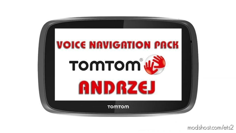 Andrzej TOM TOM Voice Navigation Pack for Euro Truck Simulator 2