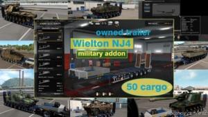 Military Addon For Ownable Trailer Wielton NJ4 V1.5.3 for Euro Truck Simulator 2