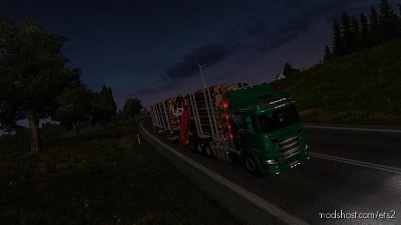 Scania R RJL Rigid Forest Parts [1.38] for Euro Truck Simulator 2