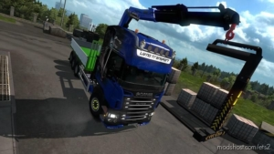 Abroll Scania RJL By FHJ Transporte V1.2 for Euro Truck Simulator 2