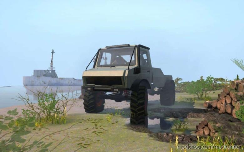 Wrangmog Rally Unimog U1300L for MudRunner
