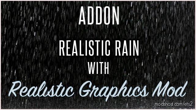 Addon Realistic Rain With RGM for Euro Truck Simulator 2