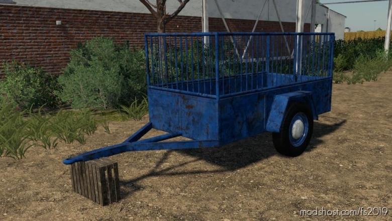 ONE Axle Trailer for Farming Simulator 19