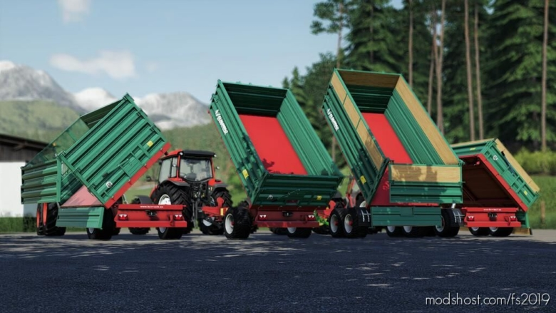 Farmtech Edk500/Tdk900 for Farming Simulator 19