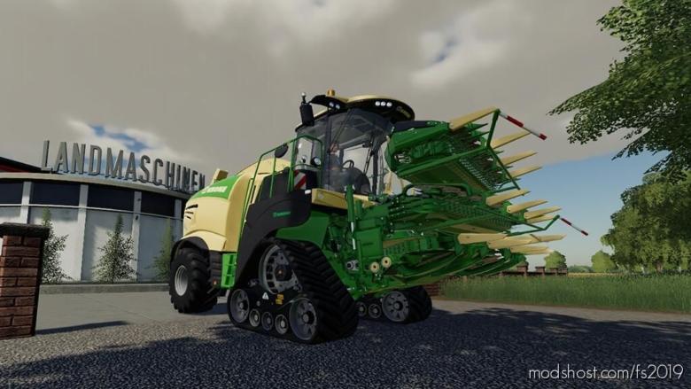 Krone BIG X 1180 for Farming Simulator 19