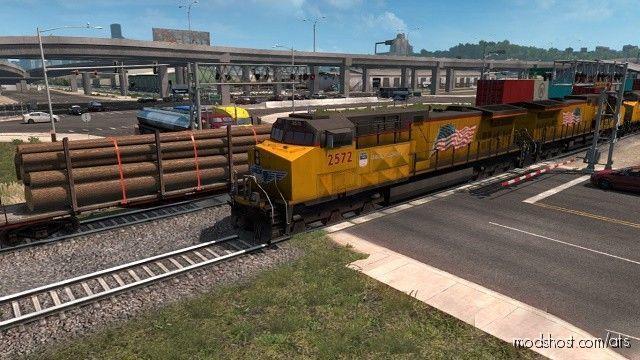 Short Trains Addon For Improved Trains V3.5 [1.38.X] for American Truck Simulator