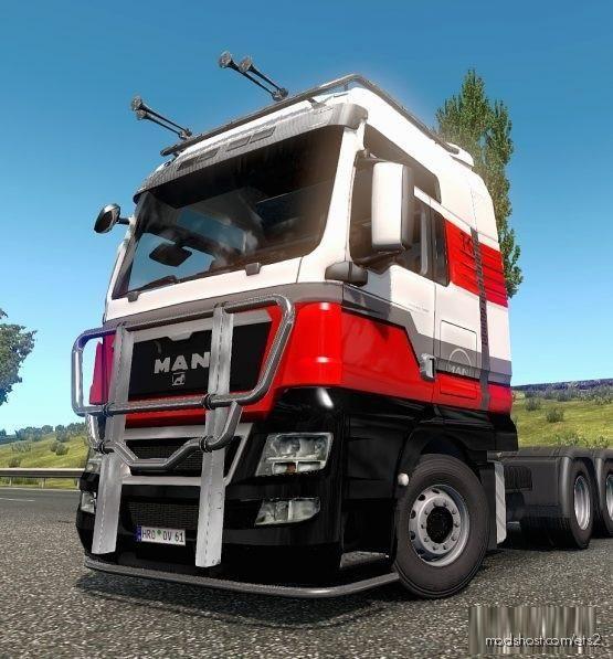 Skin MAN TGX Version [1.37 – 1.38] for Euro Truck Simulator 2