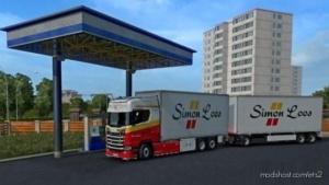 Simon Loos Scania S + BDF Tandem for Euro Truck Simulator 2