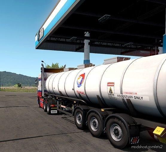 Skin Total Schwarzm Foodtanke Version [1.37- 1.38] for Euro Truck Simulator 2