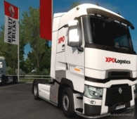 XPO Logistics Renault Version [1.37] / [1.38] for Euro Truck Simulator 2