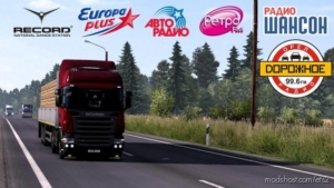 Russian Radio Stations V2.0 for Euro Truck Simulator 2