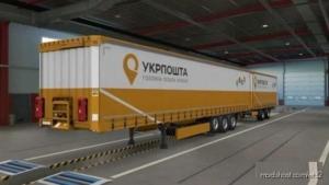 'Ukrposhta (Ukrainian Post)' Combo Skin V1.0.3 for Euro Truck Simulator 2