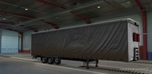 Krone Megaliner Dirty Grey Skin for Euro Truck Simulator 2