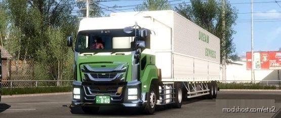 Giga & JP Wing Trailer Skin Mod for Euro Truck Simulator 2
