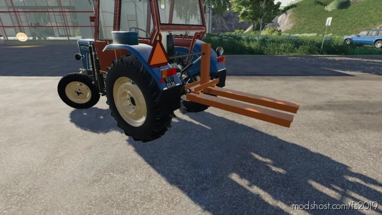 Lizard Rear Pallet Fork for Farming Simulator 19