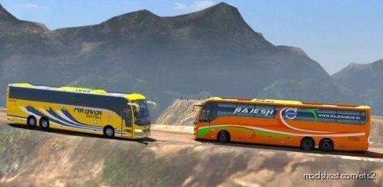 Rajesh Volvo B11R Sleeper Skin For Volvo Grand 9700 for Euro Truck Simulator 2