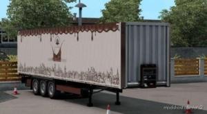 Krone Dryliner 'Lviv Handmade Chocolate' Skin for Euro Truck Simulator 2