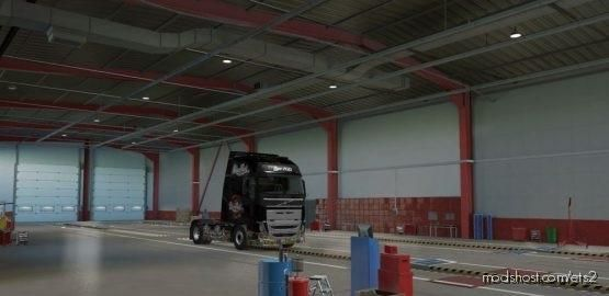Skin Poland Rock Volvo Black for Euro Truck Simulator 2