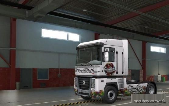 Skin Poland Rock Renault for Euro Truck Simulator 2