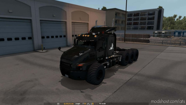 Mack Anthem Edit Truck V0.85 for American Truck Simulator