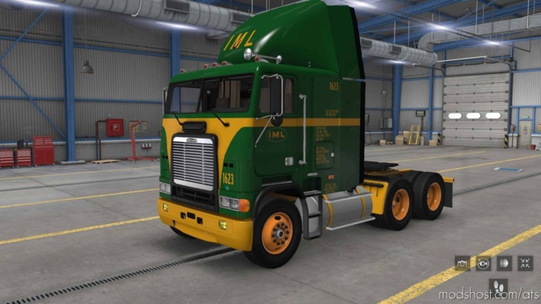 Interstate Motor Lines Skin Pack for American Truck Simulator