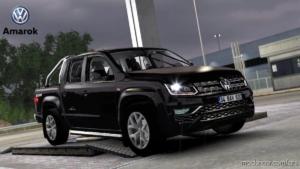 Volkswagen Amarok V6 + Interior V1.4 for American Truck Simulator