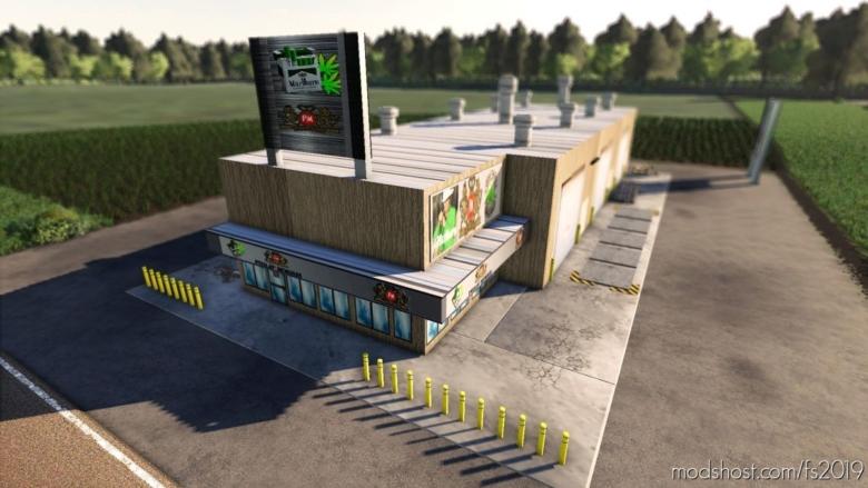 Marijuana Cigarette Factory for Farming Simulator 19
