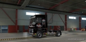 Skin Poland Rock Renault Black for Euro Truck Simulator 2