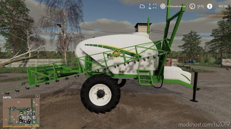 Metalfor Futur 2000 V1.1 for Farming Simulator 19