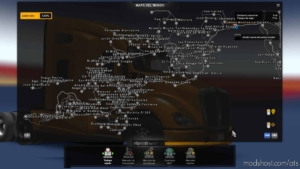 Atmx Map V3.1 [1.38] for American Truck Simulator