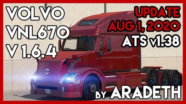 Volvo VNL 670 Truck V1.6.4 for American Truck Simulator