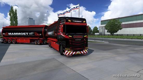 BDF Tandem Mammoet for Euro Truck Simulator 2