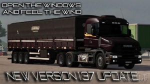 Scania T & T4 Brazilian Edit [1.37 – 1.38] for Euro Truck Simulator 2