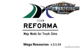 Mega Resources Mod V2.1.14 [1.38.X] for American Truck Simulator