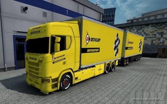 BDF Tandem Dunlop Motorsport for Euro Truck Simulator 2