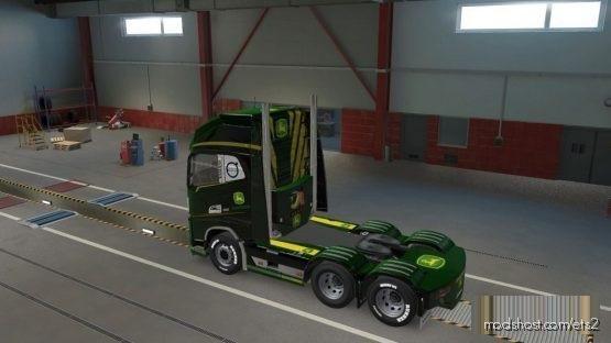 John Deere Combo Skin [1.38] for Euro Truck Simulator 2