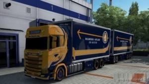 BDF Tandem Malmbergs for Euro Truck Simulator 2