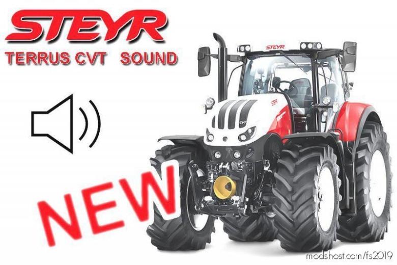 Steyr Terrus CVT (Sound) for Farming Simulator 19