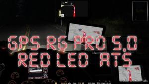 GPS RG PRO RED LED V5.0 for American Truck Simulator